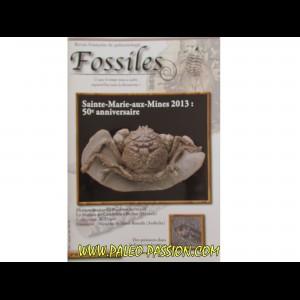 revue FOSSILES n°13 - juillet aout septembre 2013
