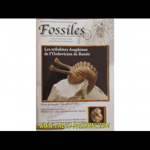 revue FOSSILES n°17 - janvier fevrier mars 2014