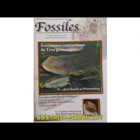 revue FOSSILES n°18 - avril mai juin 2014