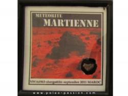 Météorite MARTIENNE NWA 6963 (6)