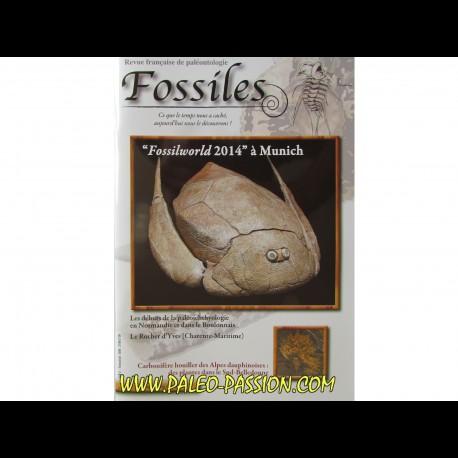 revue FOSSILES n°21 - janvier fevrier mars 2015