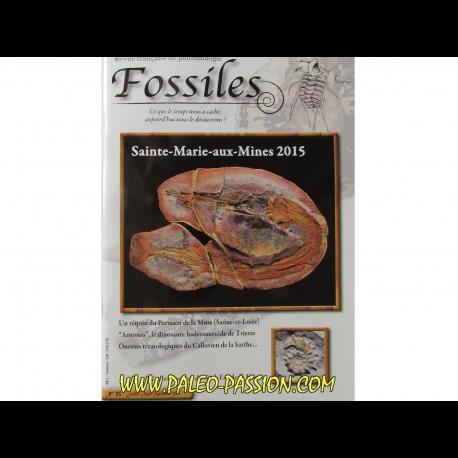 revue FOSSILES n°23 - juillet aout septembre 2015