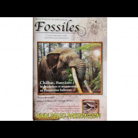 revue FOSSILES n°26 - avril mai juin 2016