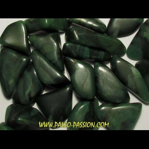 pierre roulée: quartz prase