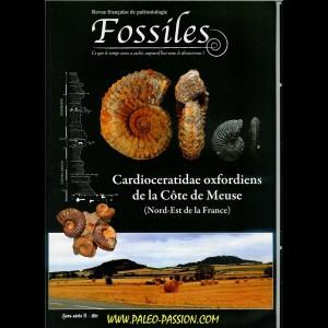 revue FOSSILES n°1 - janvier fevrier mars 2010