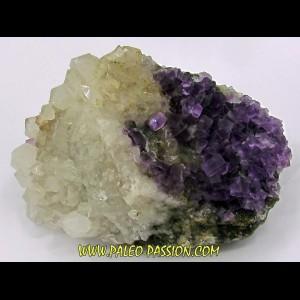 Fluorine violette & Quartz - Berbes, Espagne