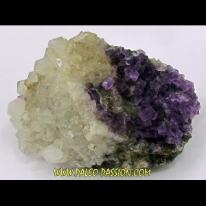purple Fluorine & Quartz - Berbes, Spain