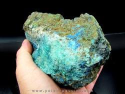 super fossil wood azurite malachite