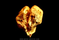 native gold  - Crystallized gold  - France
