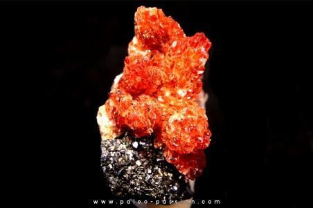 rhodochrosite - N'Chwaning Mine, Hotazel, south Africa