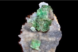 green fluorite - choir area, Mongolia
